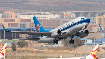 A picture of B2620 - Boeing 73771B - China Southern Airlines - © Yan Shuai