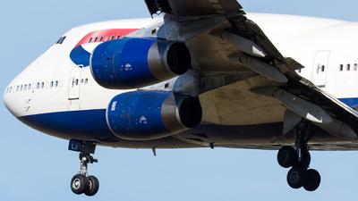 G-BNLJ - Boeing 747-436 - British Airways