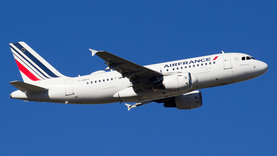 A picture of FGRHY - Airbus A319111 - Air France - © Alejandro Gutierrez Martin