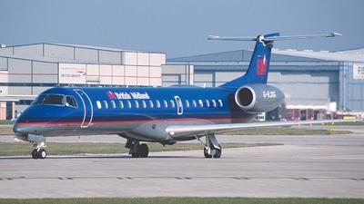 G-RJXG - Embraer ERJ-145EP - British Midland