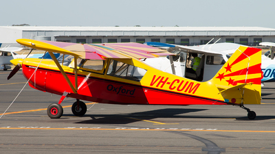 VH-CUM - Bellanca 8KCAB Decathlon - Oxford Aviation Academy