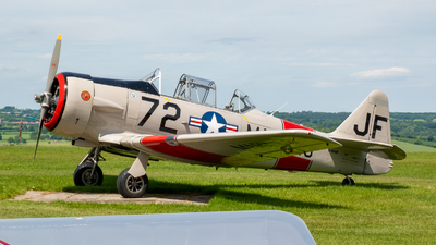 G-DHHF - North American SNJ-5 Texan - Private