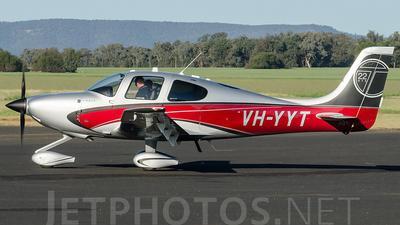 A picture of VHYYT - Cirrus SR22T - [0366] - © James Pentland