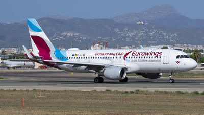 A picture of DAEWM - Airbus A320214 - Eurowings - © Martin Bernict