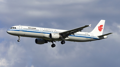 A picture of B1816 - Airbus A321213 - Air China - © Minizyi