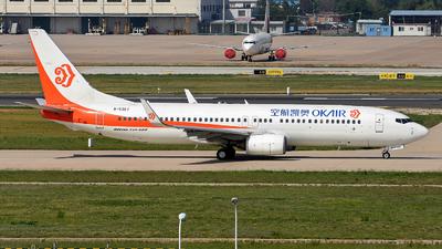 B-5367 - Boeing 737-8Q8 - OK Air