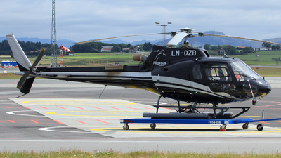 LN-OZB - Airbus Helicopters H125 - Pegasus Helicopters