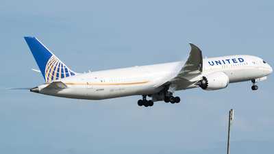 N27958 - Boeing 787-9 Dreamliner - United Airlines