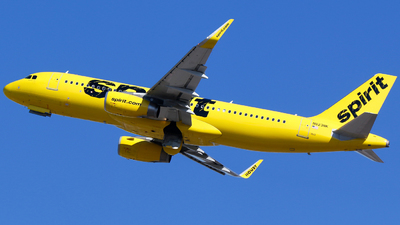 N623NK - Airbus A320-232 - Spirit Airlines