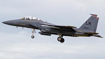 96-0204 - McDonnell Douglas F-15E Strike Eagle - United States - US Air Force (USAF)