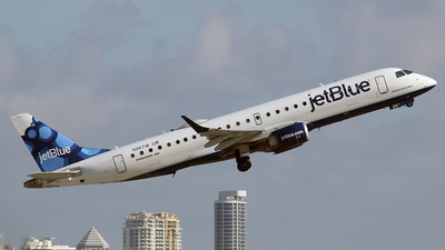 N267JB - Embraer 190-100IGW - jetBlue Airways
