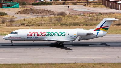 A picture of CP2715 - Mitsubishi CRJ200LR - Amaszonas - © Aldo Martinelli