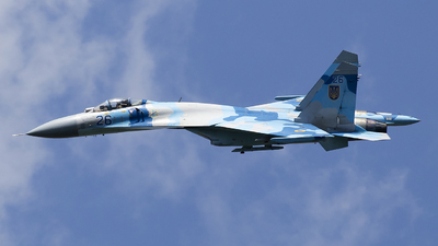 26 - Sukhoi Su-27 Flanker - Ukraine - Air Force