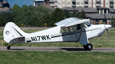 N17WK - Aviat A-1B Husky - Private