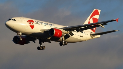OK-YAC - Airbus A310-325 - CSA Czech Airlines