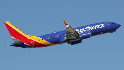 A picture of N8726H - Boeing 737 MAX 8 - Southwest Airlines - © Stig Rokkones