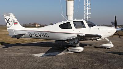 D-EVBC - Cirrus SR22T - Private