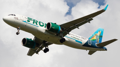 A picture of N316FR - Airbus A320251N - Frontier Airlines - © Andrew Jeng