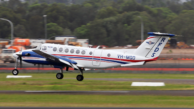 VH-MQD - Beechcraft B300C King Air 350C - Royal Flying Doctor Service of Australia (SE Section)