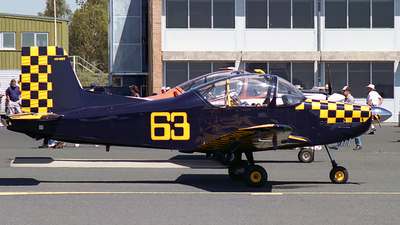 VH-WEY - New Zealand Aerospace CT-4A Airtrainer - Private