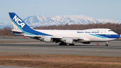 JA06KZ - Boeing 747-4KZF(SCD) - Nippon Cargo Airlines (NCA)