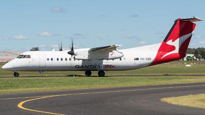 A picture of VHSBB - De Havilland Canada Dash 8300 - QantasLink - © Jayden Laing