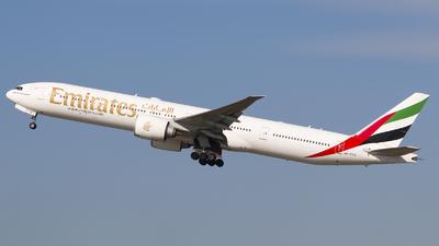 A picture of A6ECM - Boeing 77736N(ER) - Emirates - © Paula Byszewska