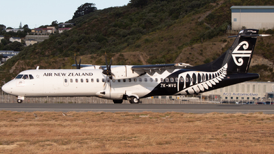 A picture of ZKMVG - ATR 72600 - Air New Zealand - © Lachlan Deans