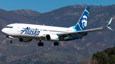 A picture of N581AS - Boeing 737890 - Alaska Airlines - © Ricky Teteris