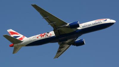 G-YMML - Boeing 777-236(ER) - British Airways