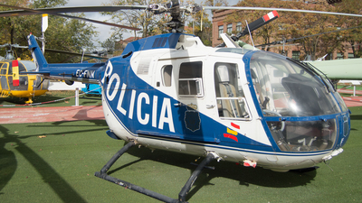EC-FNN - MBB Bo105CBS-4 - Spain - National Police
