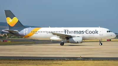 LY-NVX - Airbus A320-214 - Thomas Cook Airlines (Avion Express)