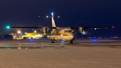 A picture of CFIQU - ATR 42300(QC) - First Air - © Brian Tattuinee