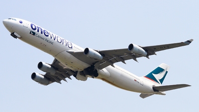 B-HXG - Airbus A340-313X - Cathay Pacific Airways