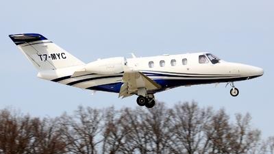 T7-MYC - Cessna 525A CitationJet CJ2 - Private