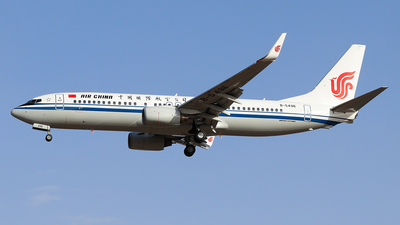 B-5496 - Boeing 737-89L - Air China