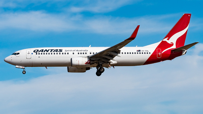 A picture of VHVXL - Boeing 737838 - Qantas - © Andrew Lesty