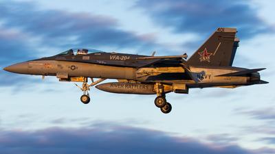 164640 - McDonnell Douglas F/A-18C Hornet - United States - US Navy (USN)