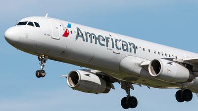 N539UW - Airbus A321-231 - American Airlines