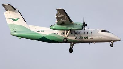 A picture of LNWIO - De Havilland Canada Dash 8100 - Wideroe - © Łukasz Stawiarz