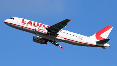 A picture of OELMB - Airbus A320232 - Laudamotion - © Javier Rodriguez - Amics de Son Sant Joan