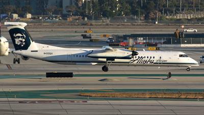 A picture of N430QX - De Havilland Canada Dash 8400 - Alaska Airlines - © Stig Rokkones