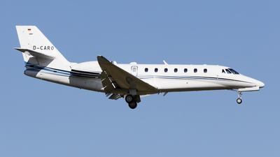 D-CARO - Cessna 680 Citation Sovereign - Aerowest Flugcharter