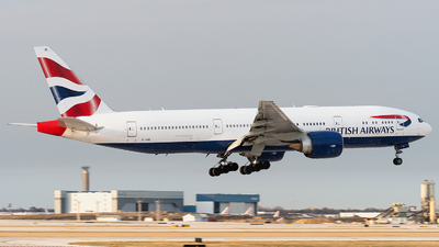 A picture of GVIIC - Boeing 777236(ER) - British Airways - © bill wang