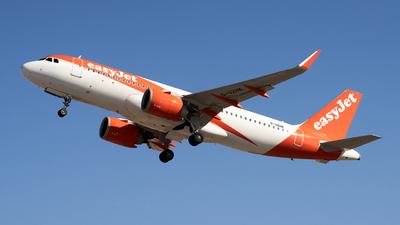A picture of GUZHK - Airbus A320251N - easyJet - © Fernando Roca