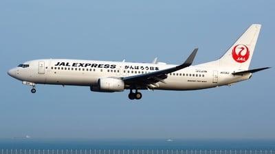 JA338J - Boeing 737-846 - JAL Express