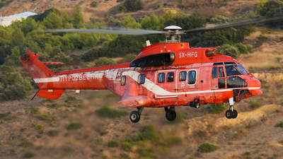 SX-HFG - Aérospatiale AS 332L1 Super Puma - Greece - Fire Fighting Service