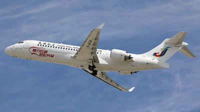 B-602W - COMAC ARJ21-700 - Genghis Khan Airlines