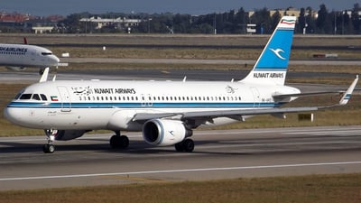 9K-AKE - Airbus A320-214 - Kuwait Airways