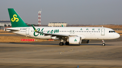 A picture of B308V - Airbus A320251N - Spring Airlines - © Keanu Chen